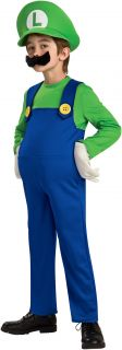 Super Mario Bros. Luigi Deluxe Toddler / Child Costume