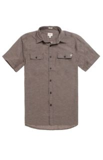Mens Ambig Shirts   Ambig Larchmont Short Sleeve Woven Shirt