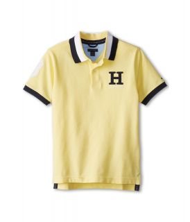 Tommy Hilfiger Kids Matt Polo Boys T Shirt (Yellow)