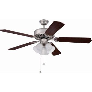 Ellington Fans ELF E205BN Pro 205 52 Ceiling Fan Motor only with Integrated Lig