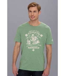 Lucky Brand Leprechaun Heathered Tee Mens T Shirt (Blue)