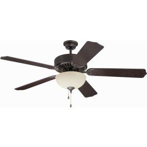 Ellington Fans ELF E208AG Pro 208 52 Ceiling Fan Motor only with Optional Light