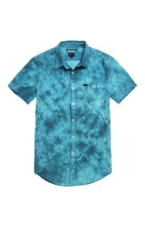 Mens Rvca Shirt   Rvca Thatll Do Tie Dye Woven Shirt