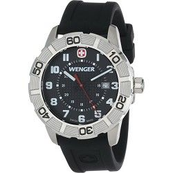 Wenger Mens Roadster Sport Watch   Black   CLICK FOR BETTER PRICE