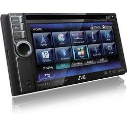 JVC Bluetooth Enabled In Dash Double DIN Audio Video Reciever Touch Screen KWNSX