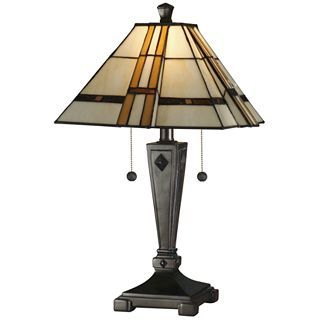 Dale Tiffany Atherton Table Lamp, Multi