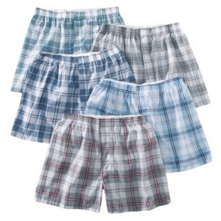 Fruit of the Loom Mens Boxers 5 Pack   Heather L