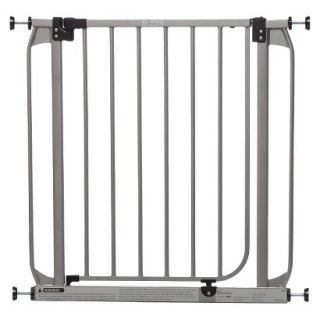 Dawson Swing Closed Security Gate   Silver
