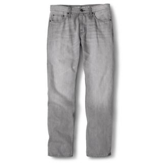 Mossimo Supply Co. Mens Slim Straight Fit Jeans   Gray 30X30