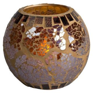 Copper Glass Mosaic Ball