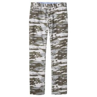 Mossimo Supply Co. Mens Slim Fit Chino Pants   Mesa Gray Camouflage 38x32