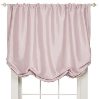 Simply Shabby Chic Faux Silk Balloon Window Valance   Pink (60x63)