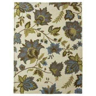 Threshold Cabana Floral Area Rug   Cream (5x7)
