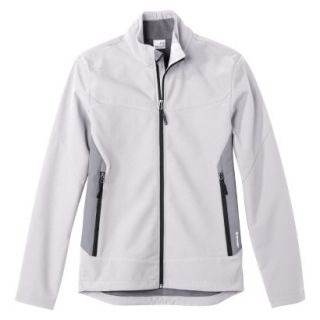 C9 by Champion Mens VentureDry Soft Shell Jacket   White/Grey S