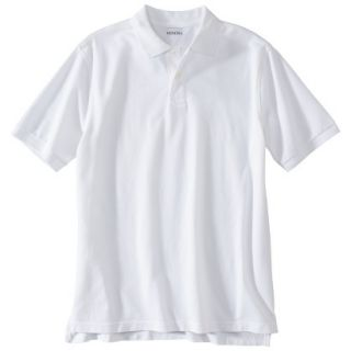 Mens Classic Fit Polo Shirt White L