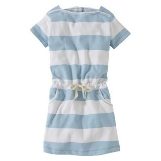 Burts Bees Baby Toddler Girls Boatneck Dress   Fog 3T