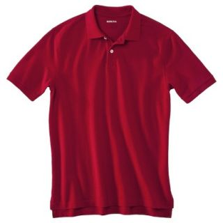 Mens Classic Fit Polo Shirt Carmen Red XXL