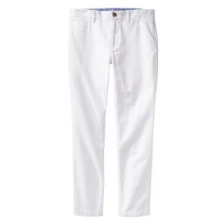 Mossimo Supply Co. Mens Vintage Slim Chino Pants   Fresh White 30X30