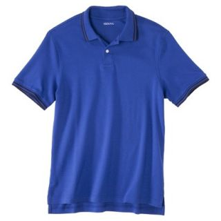 Mens Classic Fit Polo Shirt Blue Streak XL Ta