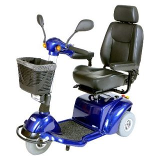 Pilot 2310 3 Wheel Medium Size Scooter   18 Captains Seat, Midnight Blue