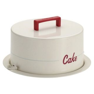 Cake Boss Serveware Metal Cake Carrier with Cake message