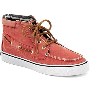 Sperry Top Sider Womens Betty Washed Red Boots, Size 8 M   9256405