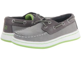 Sperry Top Sider Kids Cupsole Slip On Boys Shoes (Gray)