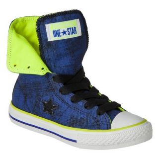 Boys Converse One Star High Top Sneaker   Navy 12