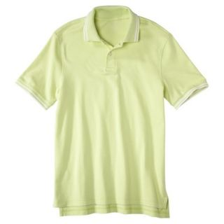 Mens Classic Fit Polo Shirt luminary yellow green XL