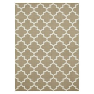 Maples Fretwork Area Rug   Tan(7x10)