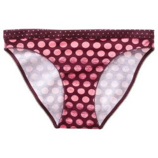 Xhilaration Juniors Cotton Bikini   Red M