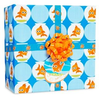 Goldfish Gift Wrap Kit