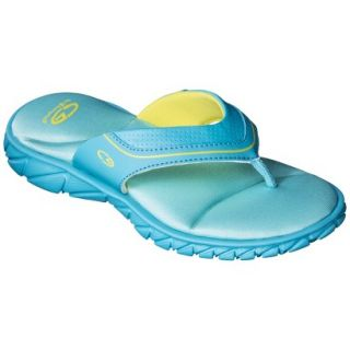 Girls C9 by Champion Goldy Flip Flop Sandals   Turquoise XL
