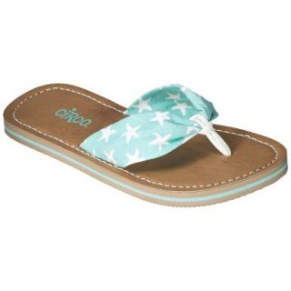 Girls Circo Gella Flip Flop Sandals   Blue L