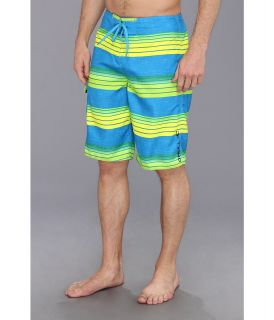 ONeill Santa Cruz Stripe Boardshort Mens Swimwear (Blue)