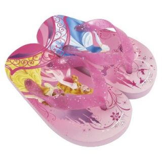 Toddler Girls Disney Princesses Flip Flop Sandals   Pink 7