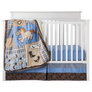Cowboy Baby 3Pc Crib Bedding Set by Lab