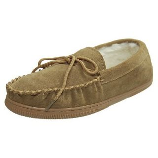 Mens Bosto Faux Suede Slippers Hickory 12