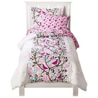 Room 365 Birds in Trees Comforter Set   Full