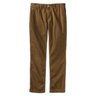 Mossimo Supply Co. Mens Slim Fit Chino Pants   Gilded Brown 38x30