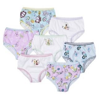 Disney Fairies Toddler Girls 7 Pack Brief Set   Assorted 4T