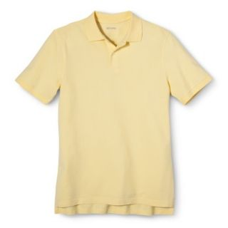 Mens Classic Fit Polo Shirt Popcorn Yellow L