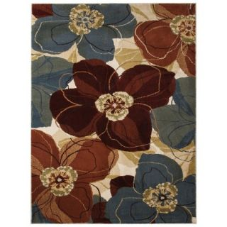 Threshold Exploded Floral Area Rug (5x7)