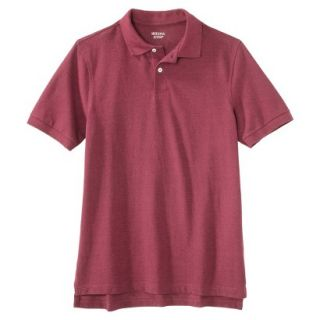 Mens Classic Fit Polo Shirt Rose Pink Red Essence L