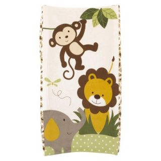 CoCaLo Plushy Safari Changing Pad Cover