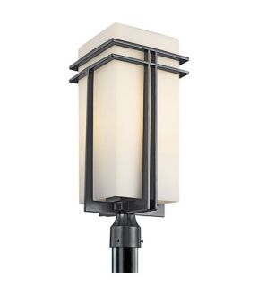 Tremillo 1 Light Post Lights & Accessories in Black (Painted) 49204BK