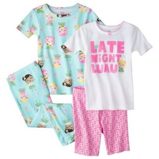Just One You Made by Carters Infant Toddler Girls 4 Piece Short Sleeve Late