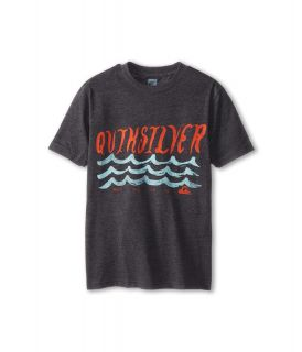 Quiksilver Kids Ride Out Tee Boys T Shirt (Gray)