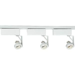 Progress Lighting Alpha Trak 3 light White Track Kit P9217 28