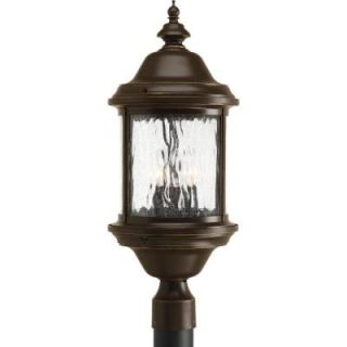 Progress Lighting Ashmore Collection 3 light Antique Bronze Post Lantern P5450 20